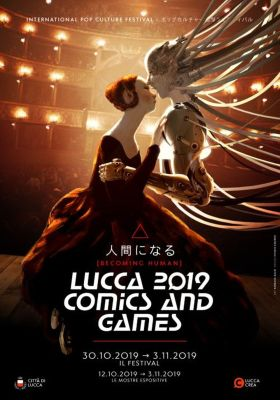 Lucca Comics and games - poster 2019