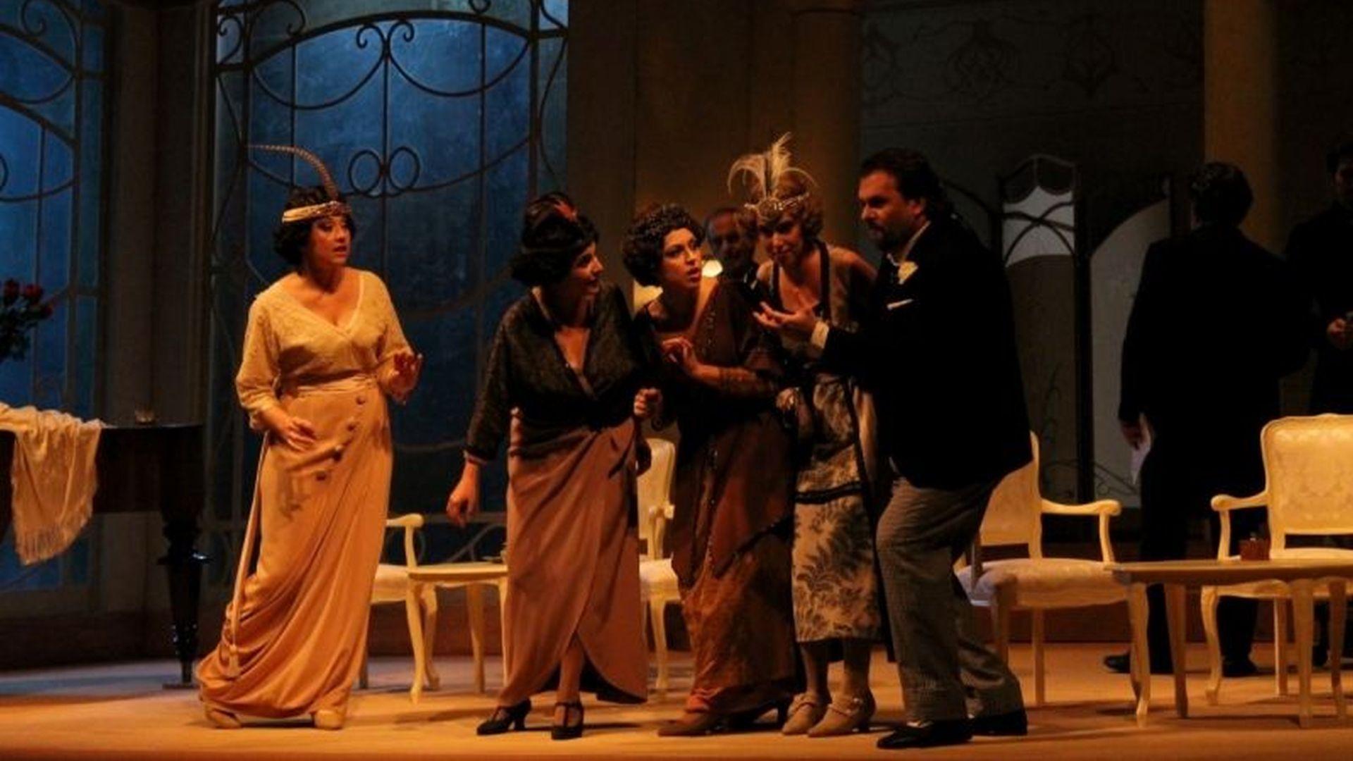 Luca, rappresentazione al teatro del Giglio per I giorni di Puccini