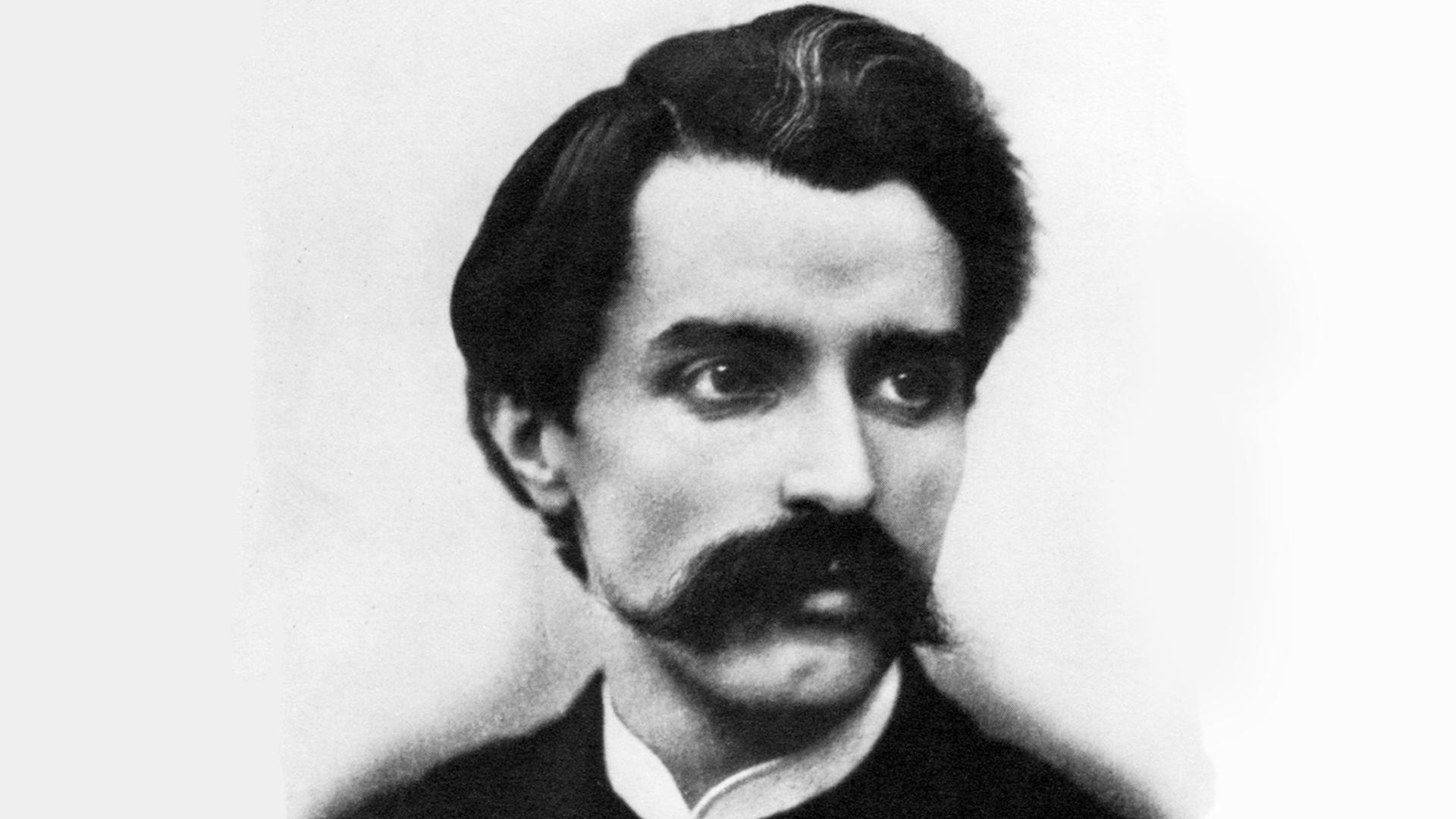 ritratto di Alfredo Catalani  compositore lucchese