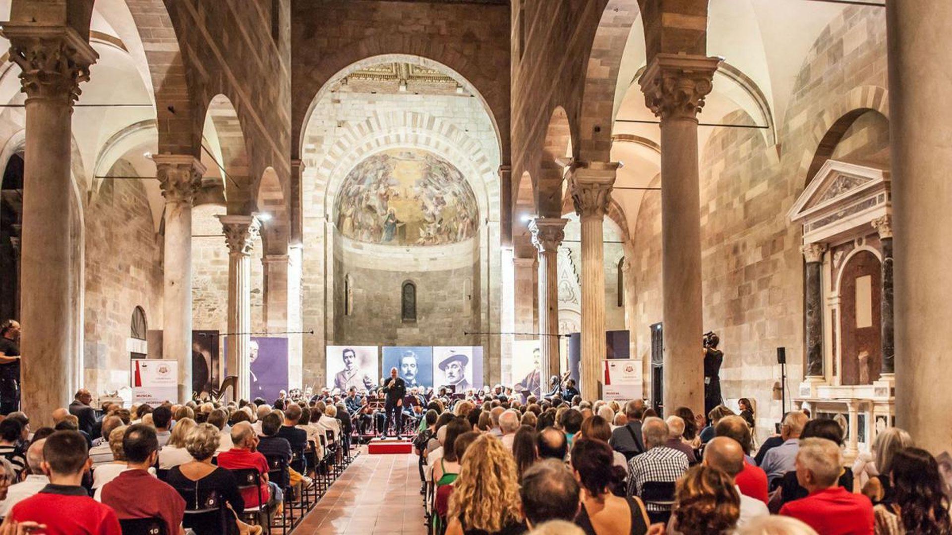 Lucca inernational puccini festival nella chiesa di san giovanni