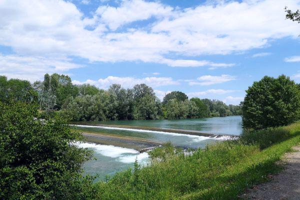 parco fluviale del fiume serchio a lucca