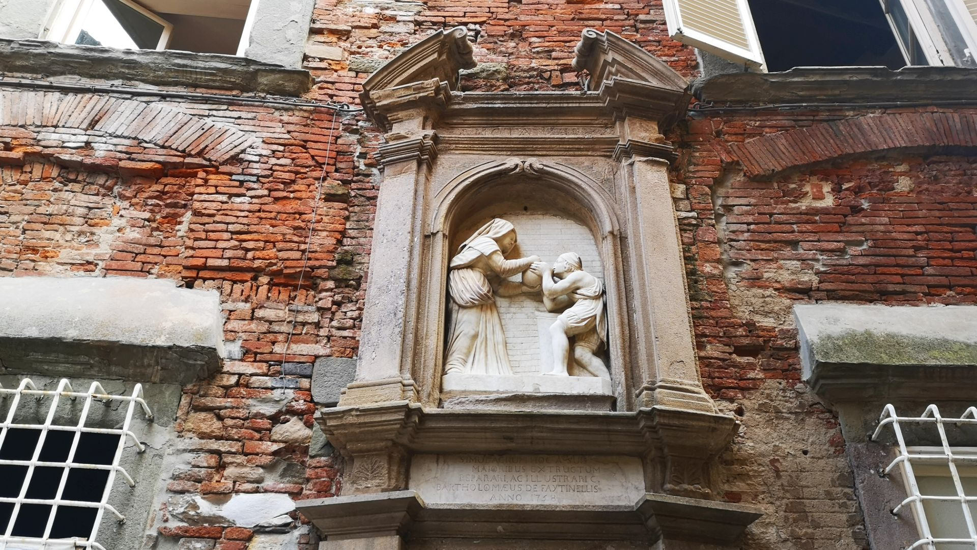 Fountain of Santa Zita in Lucca