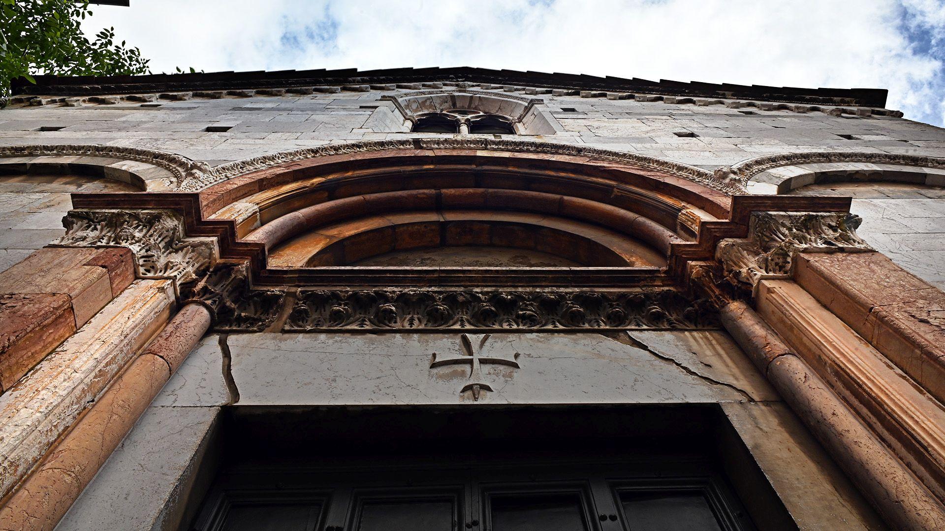 The parish church of San Quirico and Giulitta