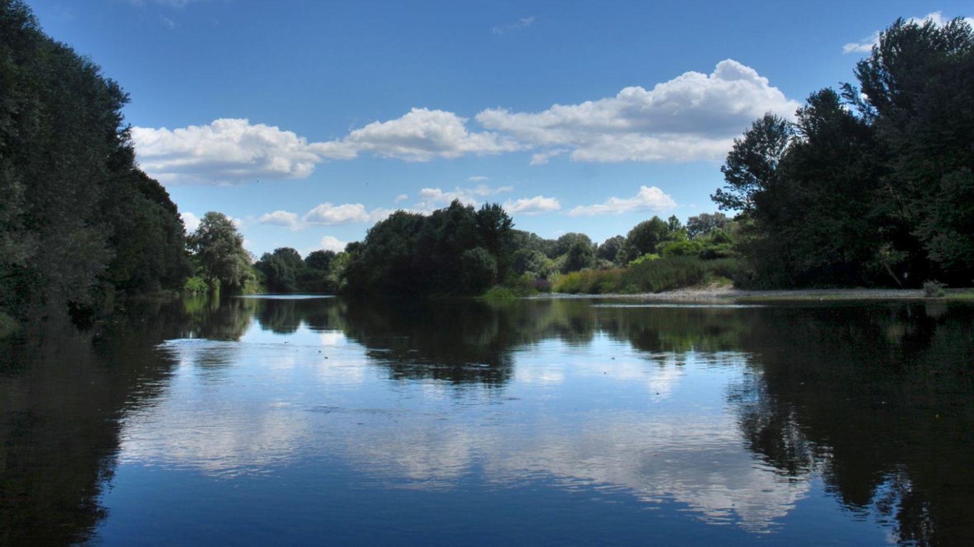 fiume serchio a monte san quirico