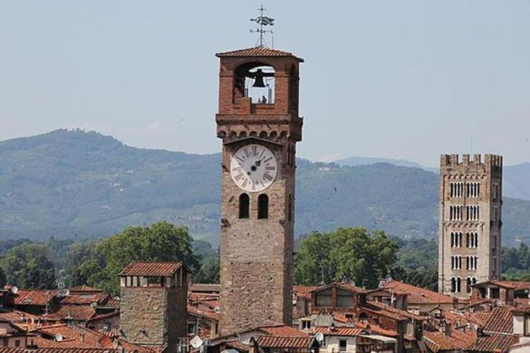 Clocktower in Lucca