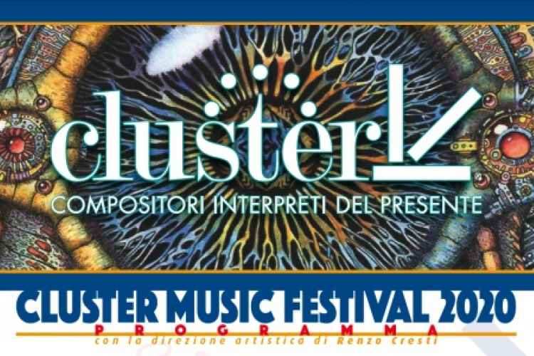 Banner of the Cluster Music Festival 2020
