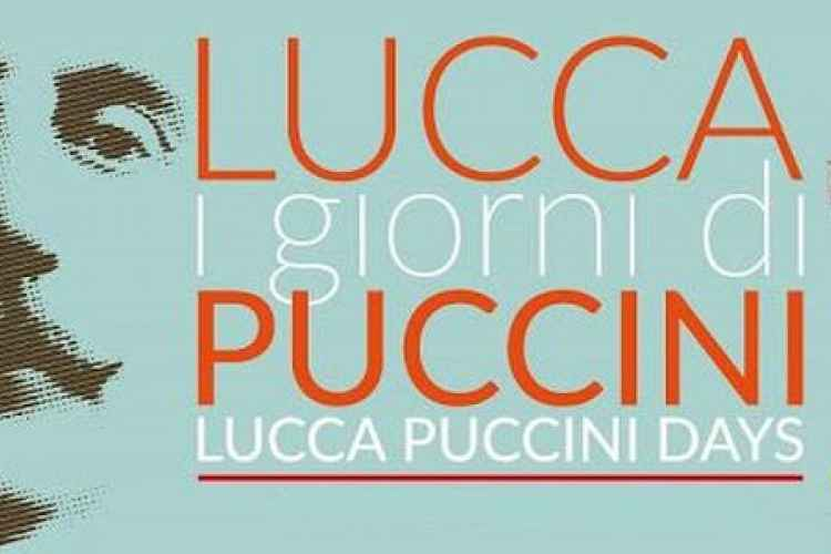 Logo of the 7th edition of Lucca Puccini Days
