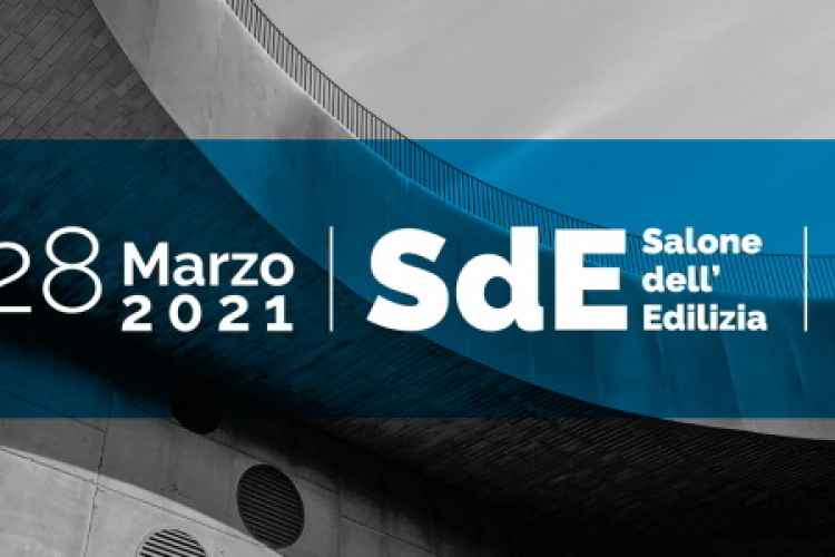 Image banner of SDE 2021. Building and construction trade show.