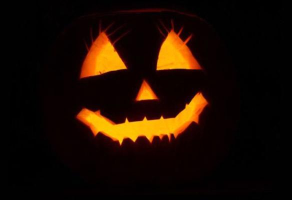 Zucca di halloween a Lucca
